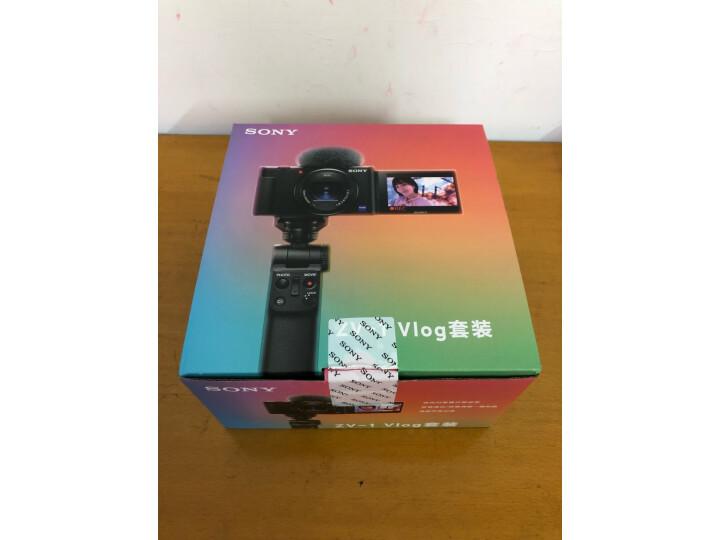索尼(SONY)ZV-1 Vlog数码相机 手柄电池套装怎么样【分享曝光】内幕详解--苏宁优评网