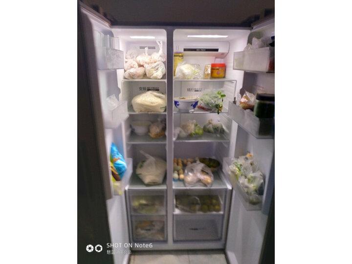 海尔520升双变频风冷无霜对开门双开门冰箱BCD-520WDPD怎么样?真实买家评价质量优缺点如何     怎么样?入手揭秘真相究竟怎么样呢? 值得评测吗 第7张