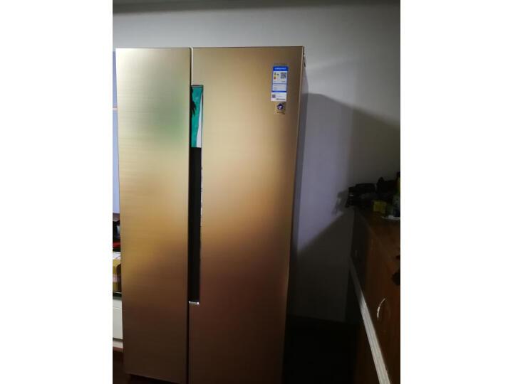 海尔 (Haier)596升双变频风冷无霜对开门双开门冰箱BCD-596WDBG怎么样?对比评测分享【有图有真想】 选购攻略 第9张