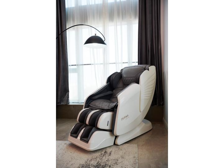 奥佳华 X 华为首次合作按摩椅家用7306大白奥使用测评必看【对比评测】质量性能揭秘 好货众测 第7张
