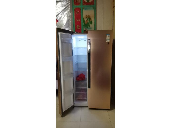 海尔 (Haier)596升双变频风冷无霜对开门双开门冰箱BCD-596WDBG怎么样?对比评测分享【有图有真想】 选购攻略 第6张