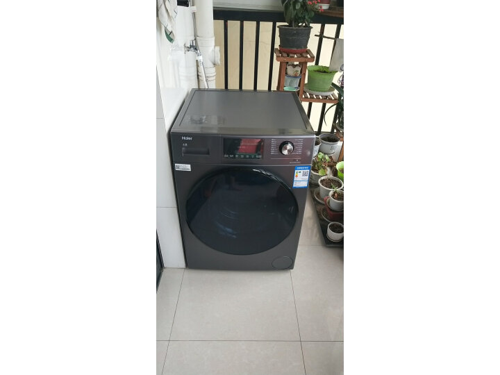 海尔(Haier)滚筒洗衣机全自动XQG100-HBM14876U1怎么样?真的好用吗,值得买吗【用户评价】 艾德评测 第3张