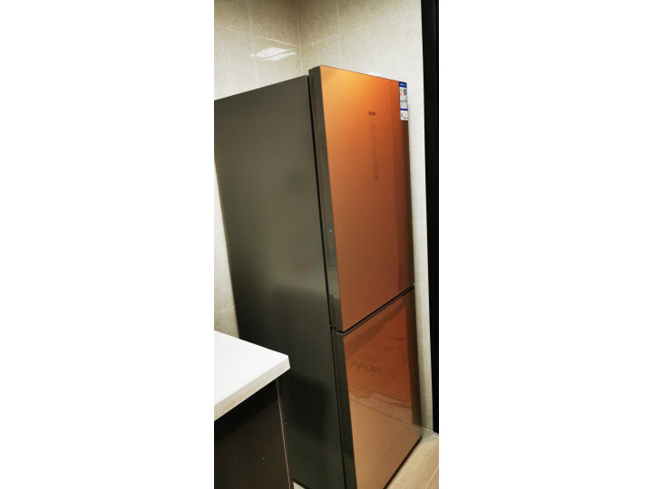 海尔 (Haier ) 269升风冷无霜两门冰箱电脑控温玻璃面板 BCD-269WDGB怎么样,最新用户使用点评曝光-艾德百科网