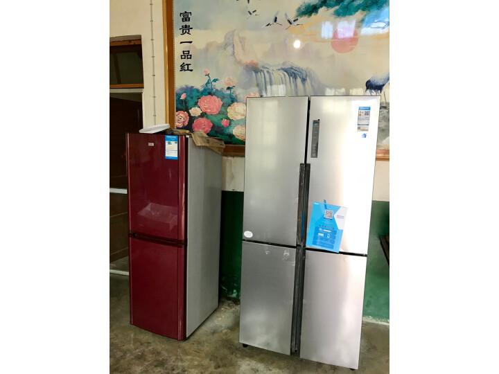 海尔( Haier) 481升 无霜变频T型十字对开门冰箱BCD-481WDVSU1新款测评怎么样??质量有缺陷吗【已曝光】 每日推荐 第8张
