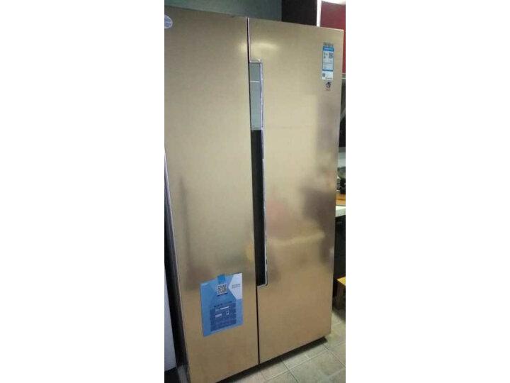 海尔 (Haier)596升双变频风冷无霜对开门双开门冰箱BCD-596WDBG怎么样?对比评测分享【有图有真想】 选购攻略 第10张