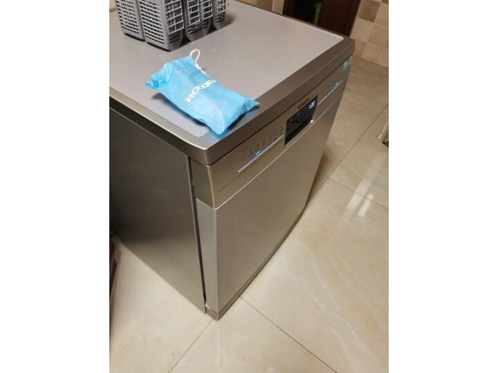 西门子(SIEMENS)智能家用 全自动洗碗机SJ236I01JC质量口碑如何网友大爆料!是不是坑 值得评测吗 第13张