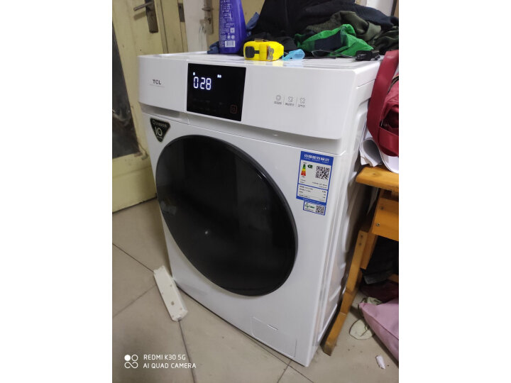 TCL 10公斤直驱全自动变频洗烘一体滚筒洗衣机G100V100-HD怎么样【真实揭秘】质量内幕详情 好货爆料 第10张