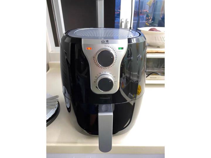 山本(SHANBEN)SB-6918空气炸锅家用智能无油烟电炸锅真实测评分享?真实买家评价质量优缺点如何 艾德评测 第9张