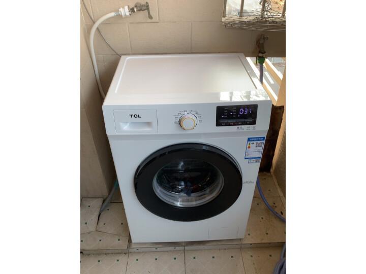 TCL 8公斤免污式免清洗变频全自动滚筒洗衣机XQGM80-S500BJD质量如何?亲身使用体验内幕详解 好货众测 第9张
