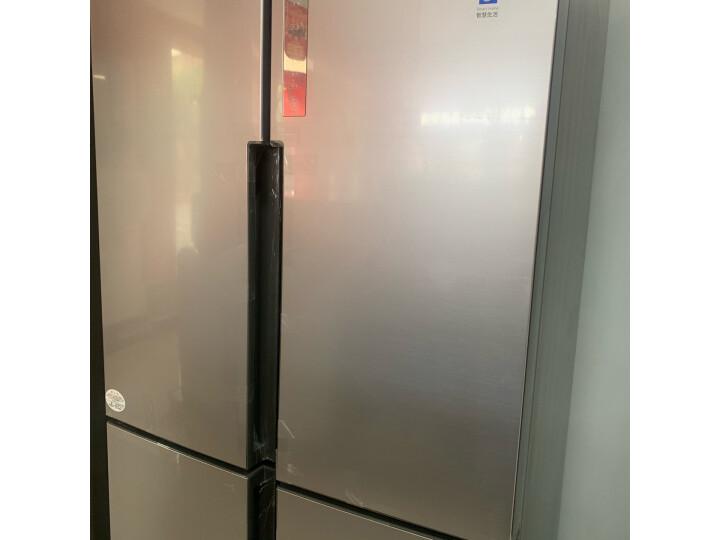 海尔( Haier) 481升 无霜变频T型十字对开门冰箱BCD-481WDVSU1新款测评怎么样??质量有缺陷吗【已曝光】 每日推荐 第3张