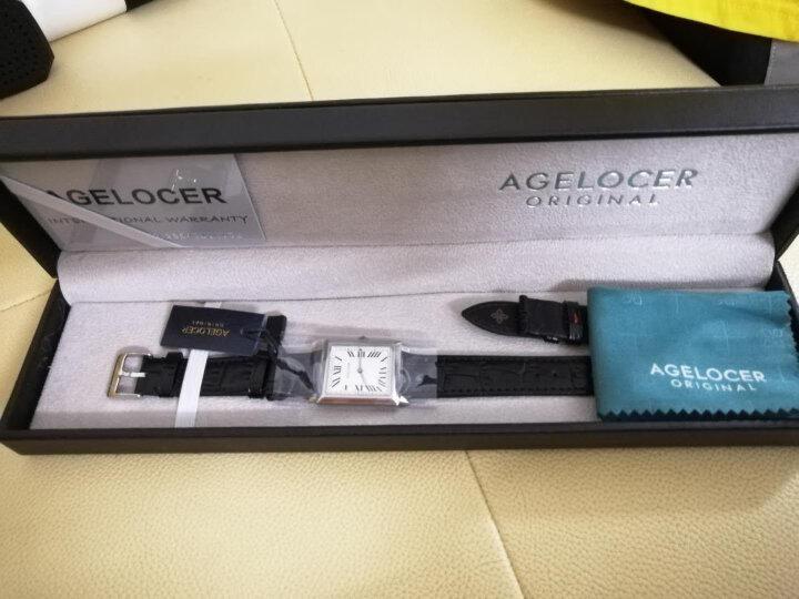 艾戈勒(agelocer)瑞士手表 寇德克斯系列方形女士石英表3402A1【时尚百搭】怎么样?大咖统计用户评论,对比评测曝光2 评测 第6张