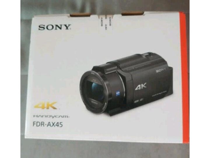 索尼(SONY)FDR-AX45家用-直播4K高清数码摄像机质量口碑如何.使用一个星期感受分享 艾德评测 第12张