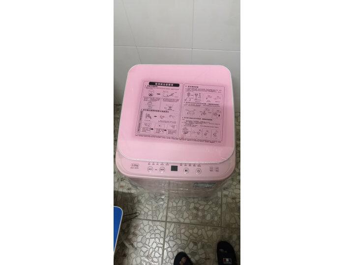 TCL 3公斤 宝宝迷你波轮全自动小洗衣机iBAO-30SRL真实测评分享?网上购买质量如何保障【已解决】 好货众测 第6张
