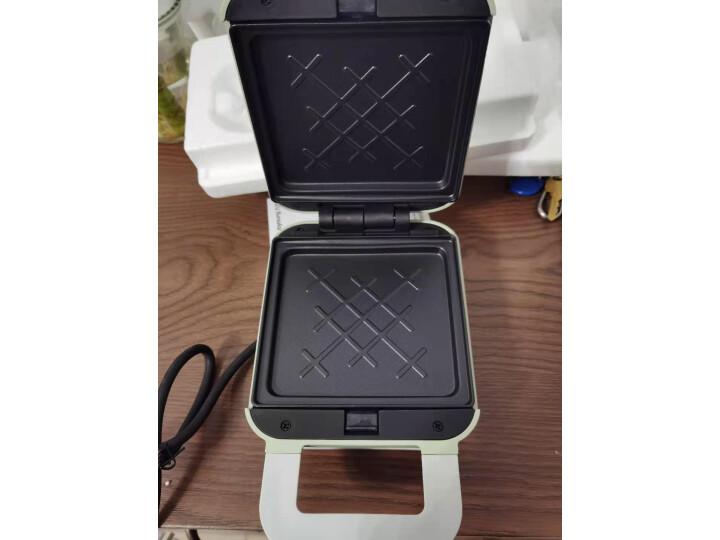 九阳(Joyoung)电饼铛魔法包迷你三明治早餐机轻食机S-T1值得买吗真有网上说的那么好 艾德评测 第5张
