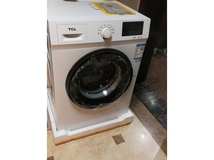 TCL 8公斤免污式免清洗变频全自动滚筒洗衣机XQGM80-S500BJD质量如何?亲身使用体验内幕详解 好货众测 第1张