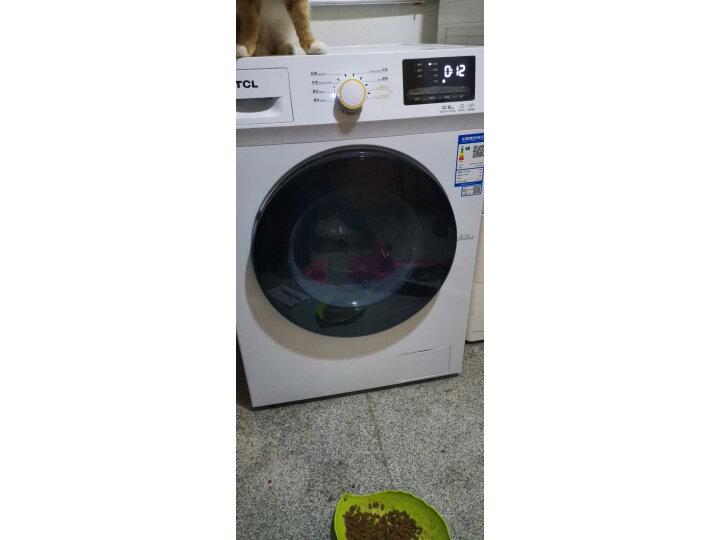 TCL 10公斤洗烘一体变频全自动滚筒洗衣机XQG100-P300BD真实测评分享?质量功能如何,真实揭秘 艾德评测 第4张