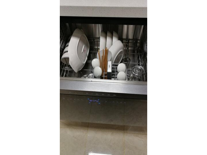 华帝(VATTI)嵌入式干态洗碗机 JWV10-E5【分享揭秘】性能优缺点内幕 艾德评测 第2张