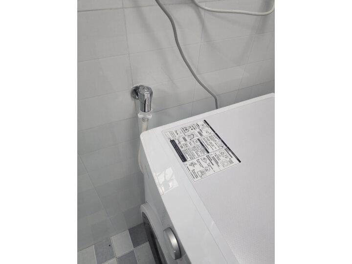 华凌 美的出品 滚筒洗衣机全自动高温HD100X1W质量如何_网上的和实体店一样吗 品牌评测 第13张