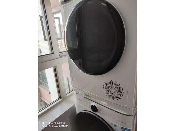 美的10公斤热泵式烘干机MH100VTH707WY-T05S怎么样为什么爆款_质量内幕评测详解 品牌评测 第6张