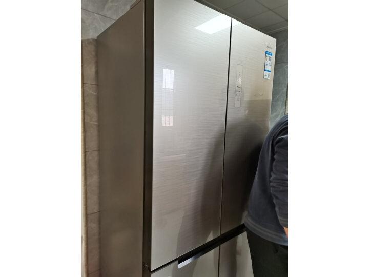 美的515升一级能效十字四门冰箱BCD-515WGPM内幕评测_有图有真相 艾德评测 第9张