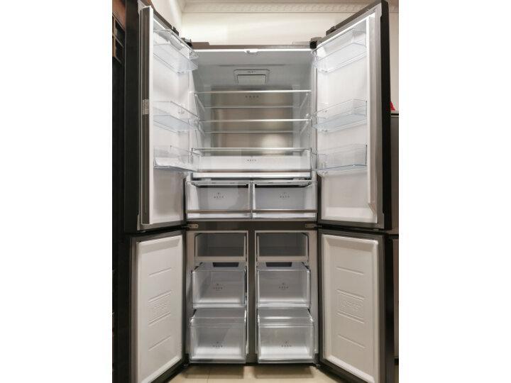 美的515升一级能效十字四门冰箱BCD-515WGPM内幕评测_有图有真相 艾德评测 第1张