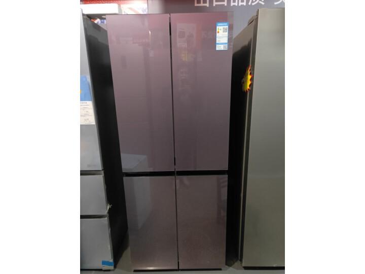 TCL 405升 一体双变频风冷无霜十字对开门电冰箱405T6-U怎么样【使用详解】详情分享 艾德评测 第1张