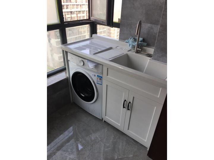 华凌 美的出品 滚筒洗衣机全自动高温HD100X1W质量如何_网上的和实体店一样吗 品牌评测 第2张