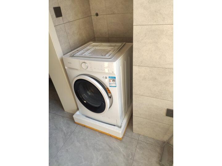 华凌 美的出品 滚筒洗衣机全自动高温HD100X1W质量如何_网上的和实体店一样吗 品牌评测 第5张