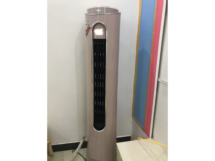 奥克斯 (AUX) 2匹淑女空调圆柱柜机(KFR-51LW-BpR3PYA2+1)怎么样?最新使用心得体验评价分享 值得评测吗 第11张
