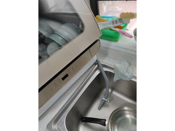 海尔(Haier)小海贝Q3 台式洗碗机6套ETBW402GDD怎么样,最新用户使用点评曝光 值得评测吗 第10张