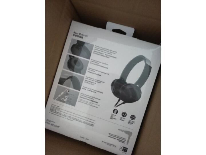 索尼(SONY)MDR-XB550AP 重低音立体声耳机么样_质量靠谱吗_在线求解 艾德评测 第9张