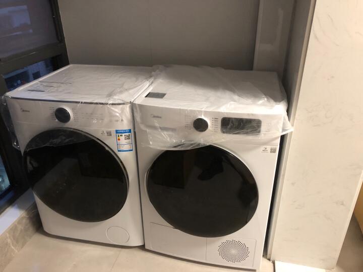 美的 (Midea) 洗烘套装 (MG100V70WD5+MH100VTH707WY-T05S) 好不好_质量如何【已解决】 品牌评测 第1张