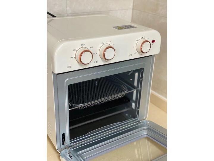 海氏K3空气炸烤箱Air Fryer oven怎么样?官方质量内幕最新评测分享 艾德评测 第12张