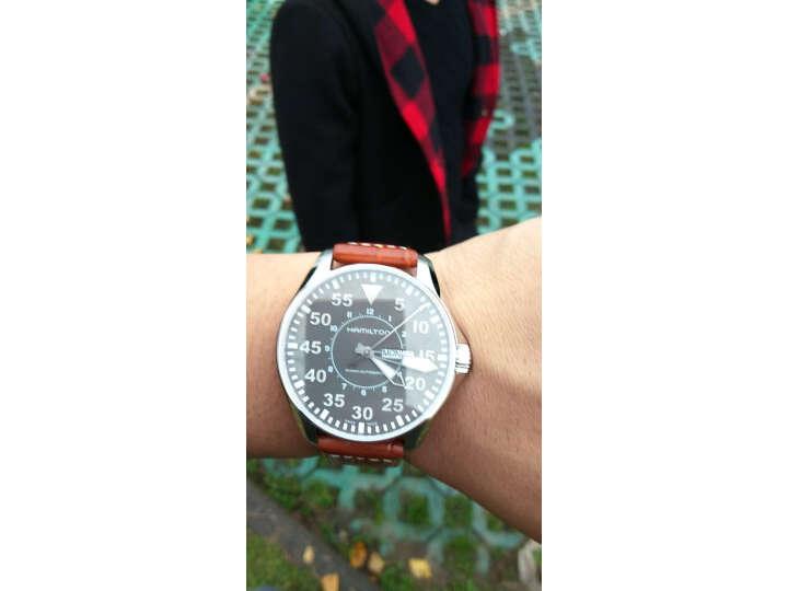 汉米尔顿(HAMILTON)瑞士手表卡其航空系列H64715885怎么样?质量评测如何,说说看法 评测 第11张