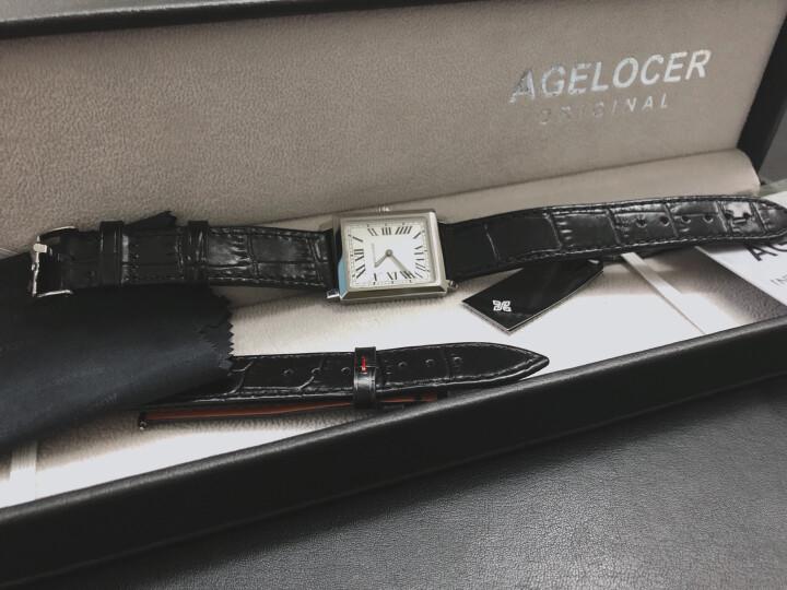 艾戈勒(agelocer)瑞士手表 寇德克斯系列方形女士石英表3402A1【时尚百搭】怎么样?大咖统计用户评论,对比评测曝光2 评测 第5张