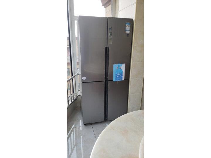 海尔( Haier) 481升 无霜变频T型十字对开门冰箱BCD-481WDVSU1新款测评怎么样??质量有缺陷吗【已曝光】 每日推荐 第7张