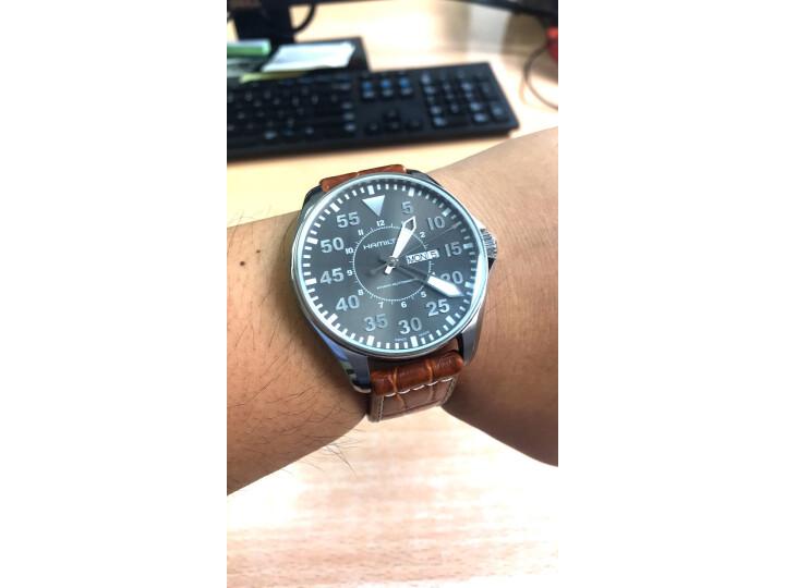 汉米尔顿(HAMILTON)瑞士手表卡其航空系列H64715885怎么样?质量评测如何,说说看法 评测 第9张