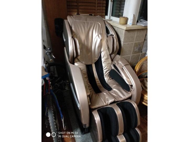 荣耀(ROVOS)R780TV杏棕色按摩椅家用测评曝光?老婆一个月使用感受详解 艾德评测 第9张