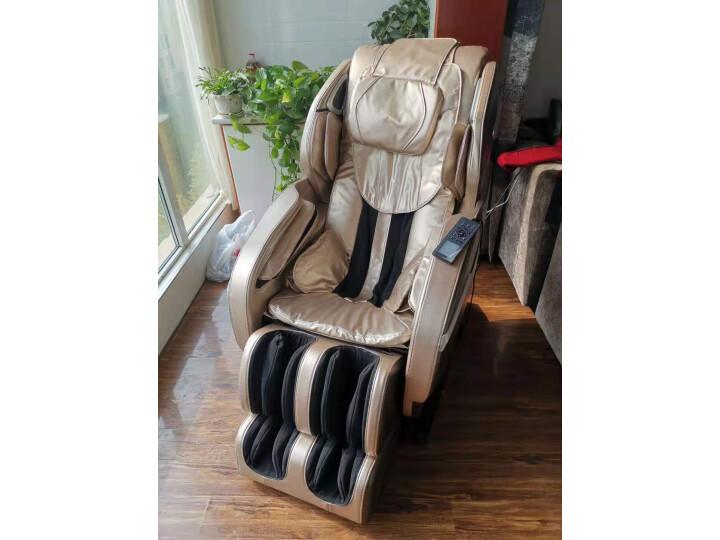 荣耀(ROVOS)R780TV杏棕色按摩椅家用测评曝光?老婆一个月使用感受详解 艾德评测 第5张