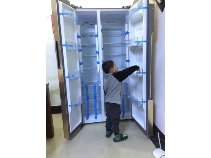 海尔 (Haier)596升双变频风冷无霜对开门双开门冰箱BCD-596WDBG怎么样?对比评测分享【有图有真想】 选购攻略 第7张