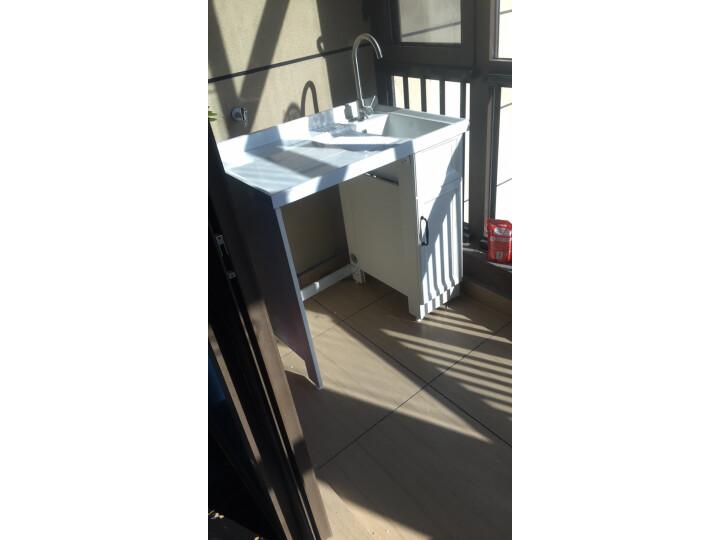 希箭 HOROW太空铝洗衣机柜带搓板台盆组合柜怎么样?最新吐槽性能优缺点内幕-艾德百科网
