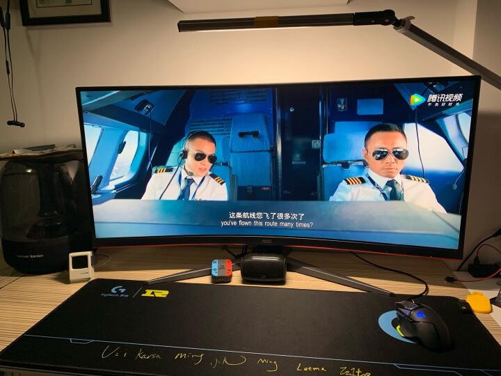 【新款独家测评】AOC 34英寸 带鱼屏电竞显示器 CQ34G2好不好如何??质量功能如何,真实揭秘_必看 -- 评测揭秘
