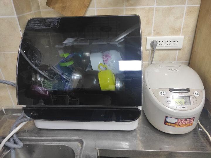 海尔(Haier)小海贝台式除菌洗碗机6套HTAW50STGB怎么样?官方媒体优缺点评测详解 艾德评测 第3张