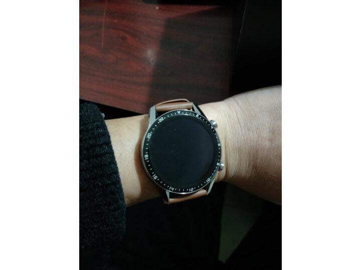 HUAWEI WATCH GT2(46mm)砂砾棕 华为手表怎么样?质量口碑反应如何【媒体曝光】 艾德评测 第4张