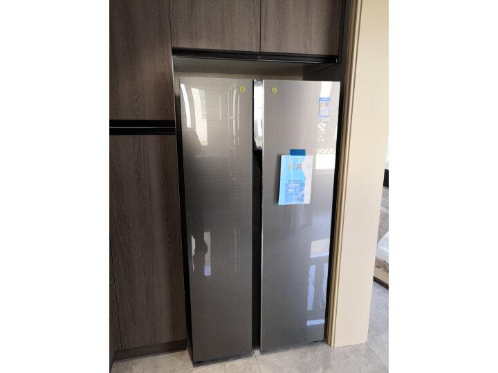 海尔(Haier )601升 双变频风冷无霜对开门冰箱BCD-601WDGX怎么样?上档次吗,亲身体验诉说感受 艾德评测 第6张