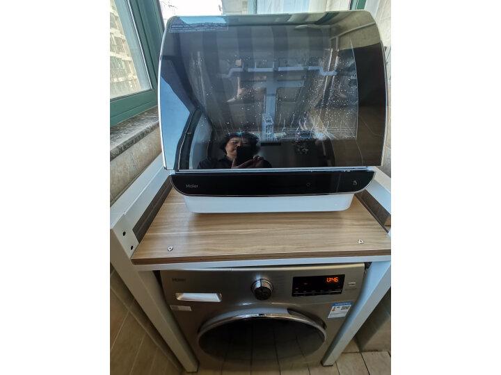 海尔(Haier)小海贝台式除菌洗碗机6套HTAW50STGB怎么样?官方媒体优缺点评测详解 艾德评测 第4张