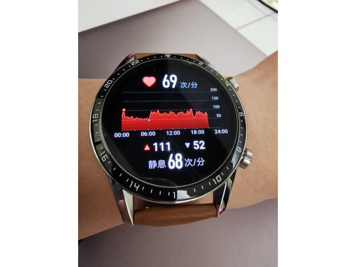 HUAWEI WATCH GT2(46mm)砂砾棕 华为手表怎么样?质量口碑反应如何【媒体曝光】 艾德评测 第3张
