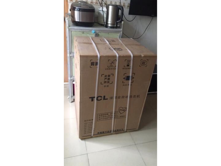 TCL 8公斤免污式免清洗变频全自动滚筒洗衣机XQGM80-S500BJD质量如何?亲身使用体验内幕详解 好货众测 第4张