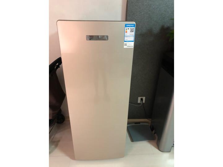 海尔(Haier) 151升 立式风冷无霜电脑温控防串味冷藏保鲜冷冻柜BD-151WL新款测评怎么样??质量内幕评测曝光-苏宁优评网