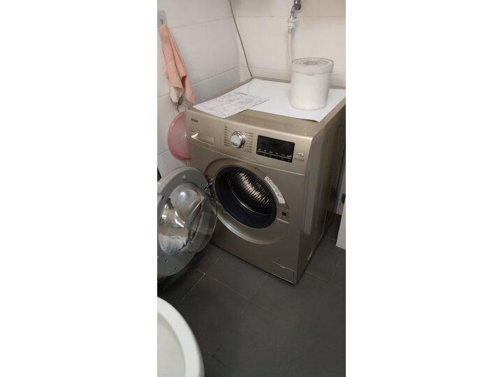 海尔(Haier) 10KG全自动BLDC变频滚筒高温除菌洗衣机EG10014B39GU1怎么样?为什么爆款,质量详解分析 艾德评测 第8张
